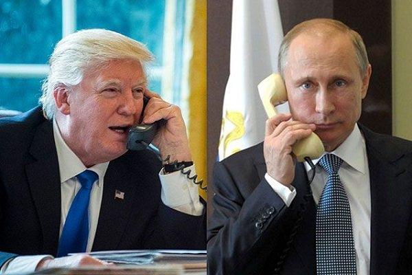Трамп Путин телефонный разговор
