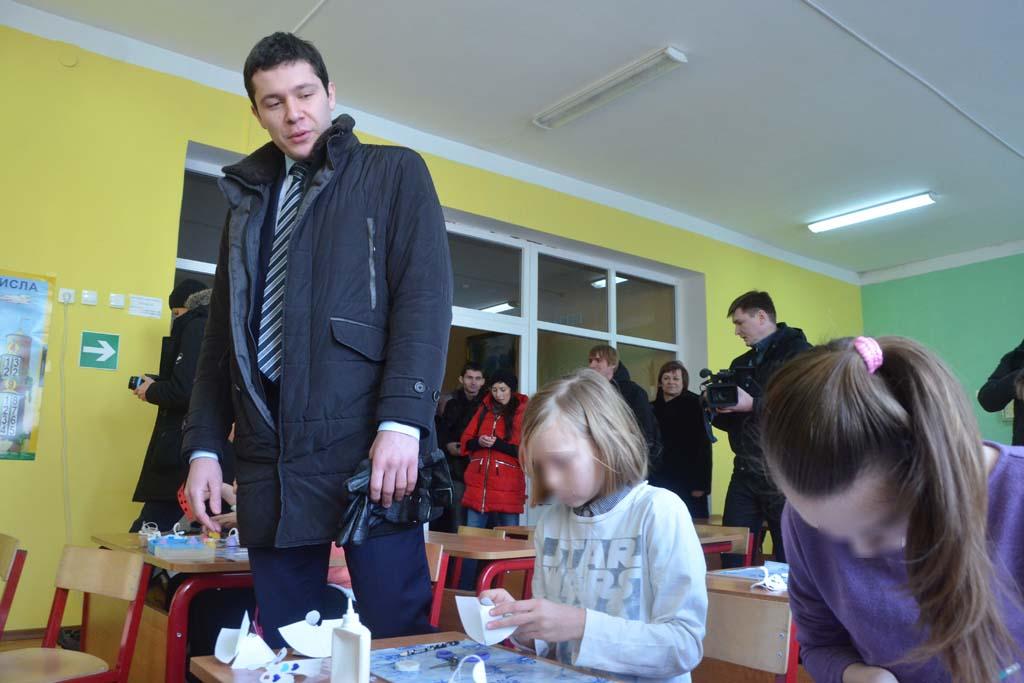губернатор Алиханов школа