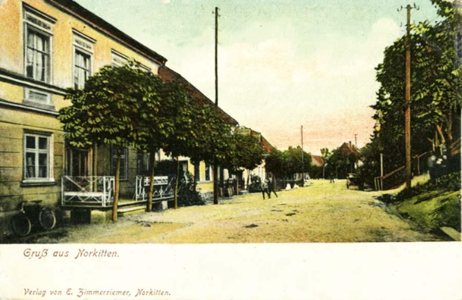 Норкиттен, деревенская улица