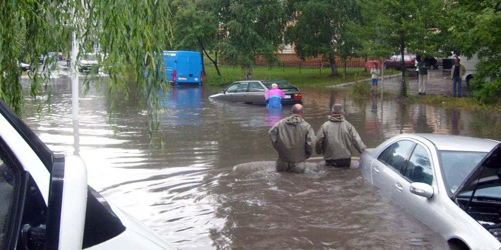 Калининград потоп