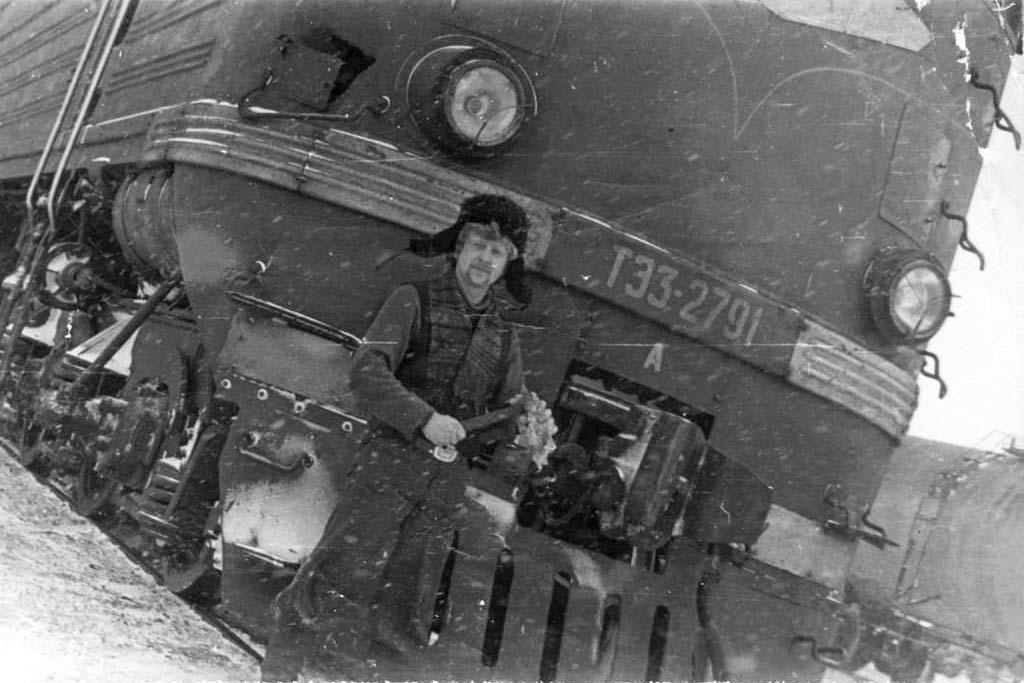 Борис Шайхатаров машинист