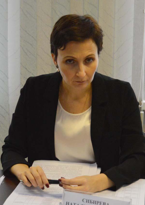 Наталья Сибирёва Калининград вице-премьер
