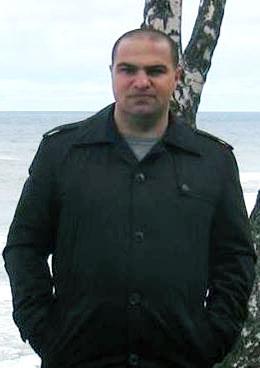 майор полиции Григор Вердян Зеленоградск