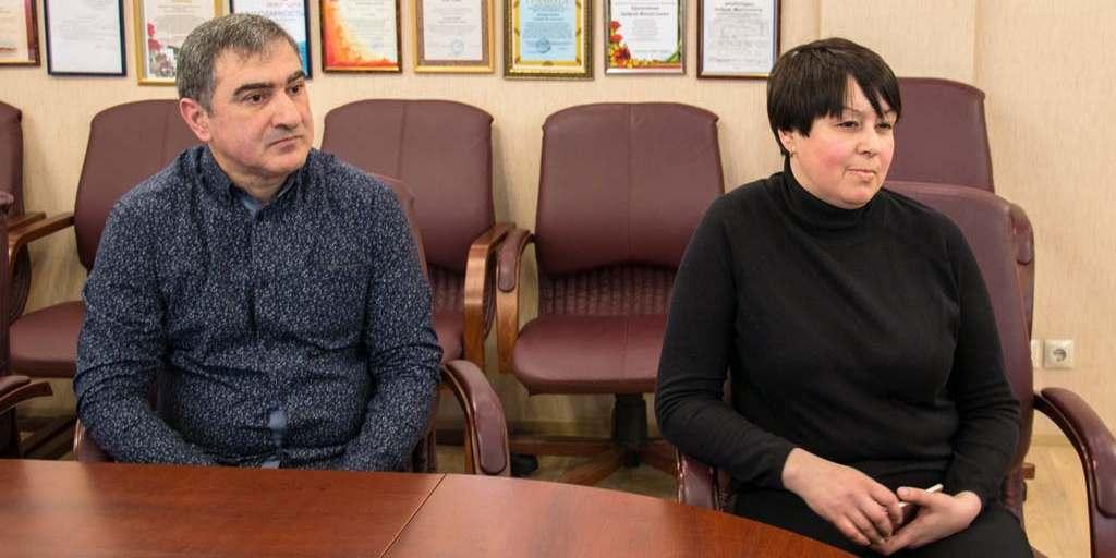 Радж Аваков, Ольга Никоноренкова, Калининград